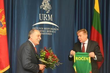 Lietuva palaiko Juodkalnijos narystės ES ir NATO siekius