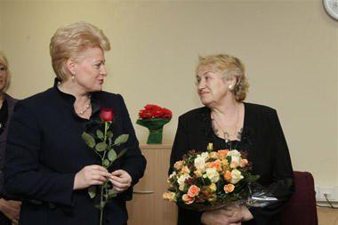 D.Grybauskaitė: be šiuolaikiško mokytojo neįsivaizduojama šalies ateitis