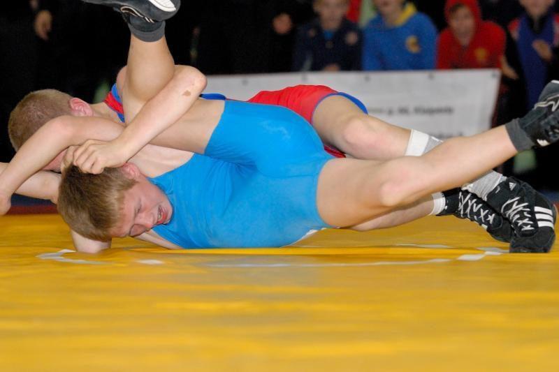 K.Šleiva iškovojo Europos jaunių imtynių  bronzą