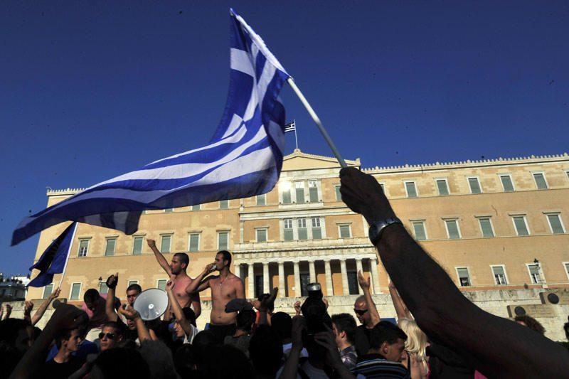 Euro zonos šalys sutarė dėl pagalbos Graikijai priemonių, matyti projekte
