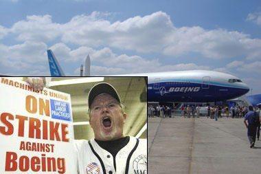 """Per streiko dieną """"Boeing"""" praras po 100 mln. JAV dolerių"""