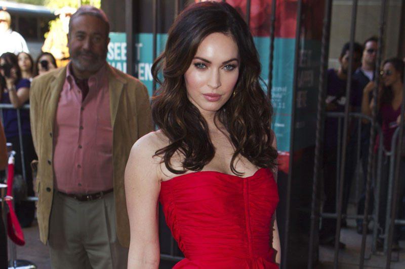Gandrai Holivude: aktorė Megan Fox laukiasi