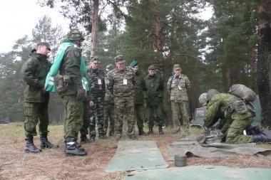 Lietuviai tikrins Baltarusijos karines pajėgas