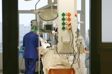 Į sostinės ligoninę dėl kraujo išsiliejimo į smegenis paguldytas vyras