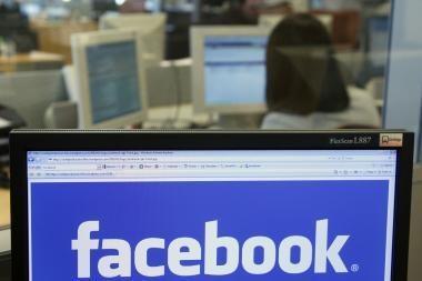 "Per ""Facebook"" plinta virusas"