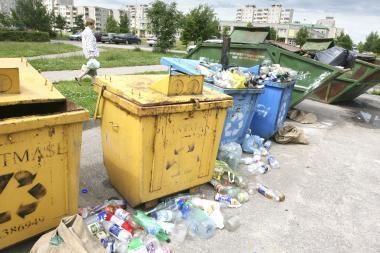 Sostinės atliekų tvarkymo projektas vėluoja