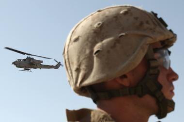 Afganistano prezidento inauguraciją aptemdė dviejų JAV karių žūtis