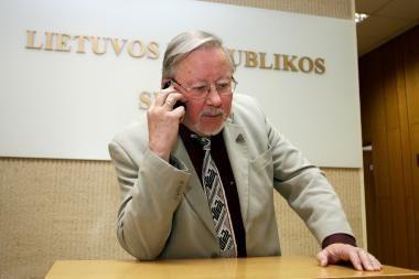 """V.Landsbergis nemato """"vaivorykštės"""" koalicijos privalumų"""