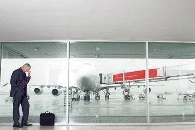 Paklydęs keliautojas oro uoste praleido savaitę
