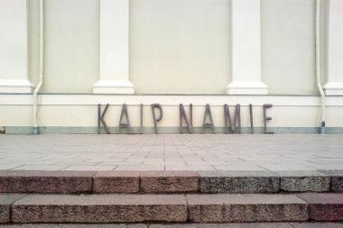 Skulptorius jaukinasi viešąsias erdves