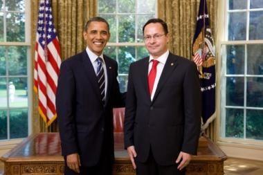 Ž.Pavilionis pradeda eiti Lietuvos ambasadoriaus JAV pareigas