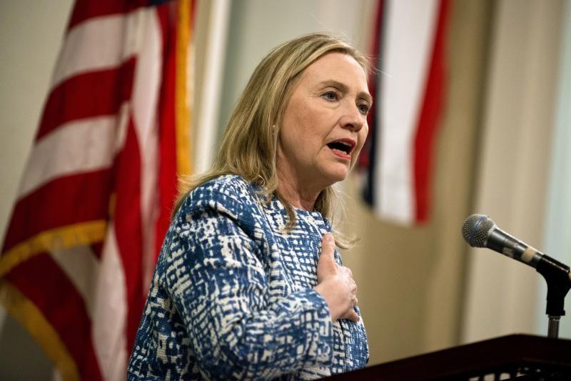 H. Clinton dėl ligos atšaukė kelionę į Maroką