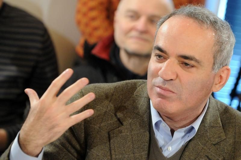 Liudininkas: policininkui įkando G.Kasparovas, šuns nebuvo