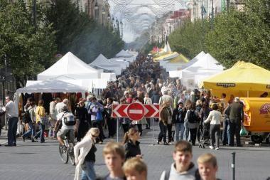 Jaunimo dienas Vilniuje užgožė Tautų mugė