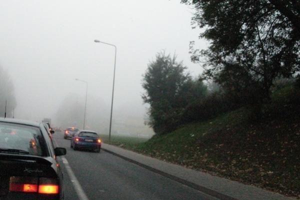 Vairuotojai raginami namo išvykti anksčiau