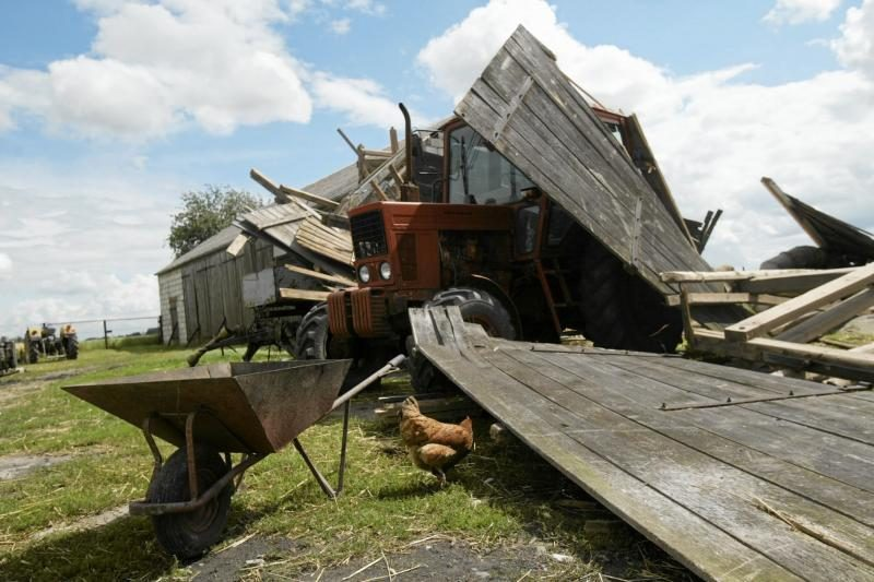 Lenkijoje praūžęs tornadas nuniokojo daugiau nei 100 pastatų