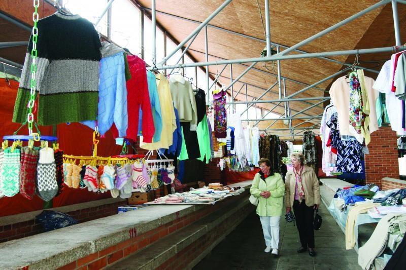 Senąjį turgų norima atiduoti verslininkams