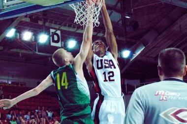 Lietuvos krepšininkus nugalėjo rusai ir amerikiečiai