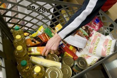 Parduotuvėje - 67 kg pasenusių maisto produktų