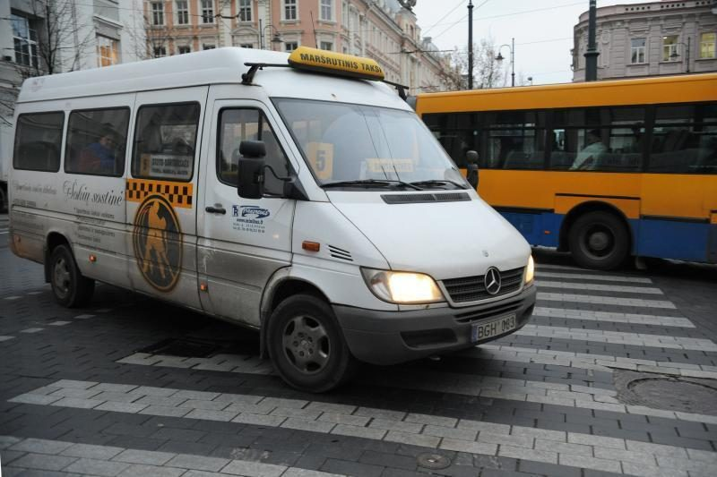 Gyventojai renka parašus, kad Vilniuje nebūtų naikinami mikroautobusai