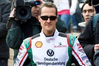 "M. Schumacheris grįžta į ""Formulę 1"""
