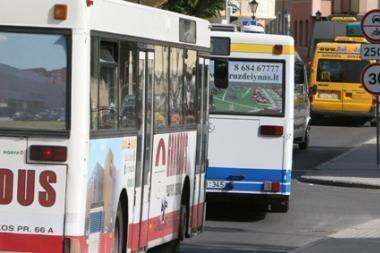 Keičiasi Vilniaus autobusų ir troleibusų tvarkaraščiai