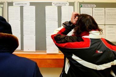 Vasarį Kauno darbo biržoje įregistruota 3,2 tūkst. bedarbių