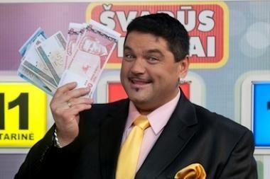 "LNK žaidimą ""Švarūs pinigai"" ves V.Cololo"