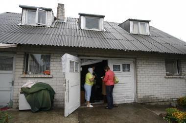 Kauno neįgaliųjų atostogos - garaže Melnragėje