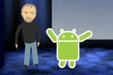 """""""Android"""" OS rekordai: 1,5 mln. aktyvavimų per dieną, per 50 mlrd. atsisiuntimų"""