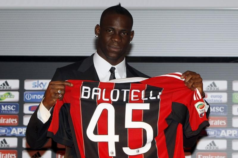 M.Balotelli: negalėjau Anglijoje man nepatiko beveik viskas