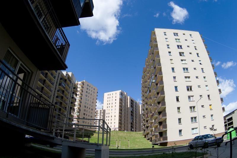 Naujų būstų pardavimai   augo   trečdaliu
