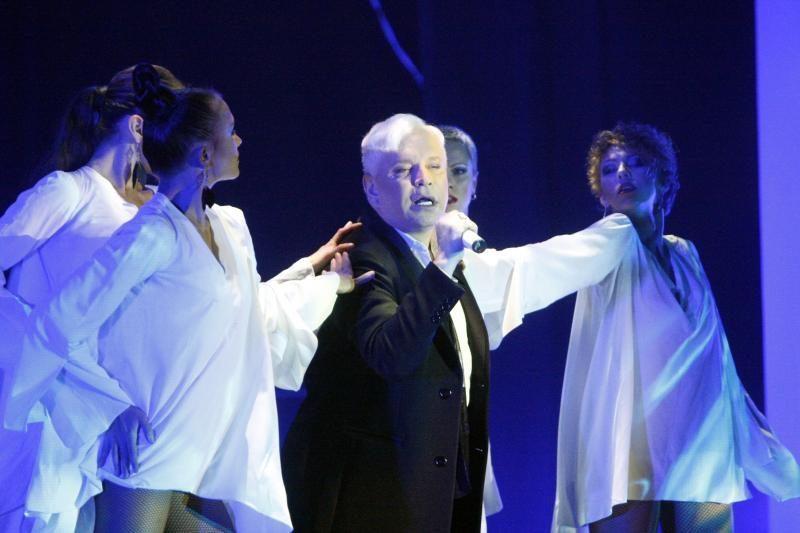 Insultą įveikęs atlikėjas B. Moisejevas džiugino Vilniaus publiką