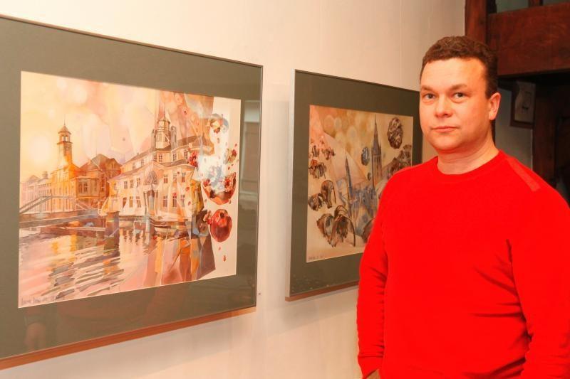 Dailininkas Aurimas Anusas veda per dingusią Klaipėdą