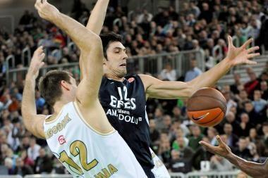 Krepšinio trileriui Liublianoje prireikė dviejų pratęsimų