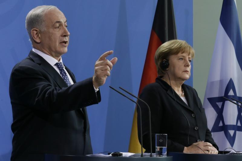 Vokietijos kanclerė Merkel nesutinka su Izraeliu dėl nausėdijų
