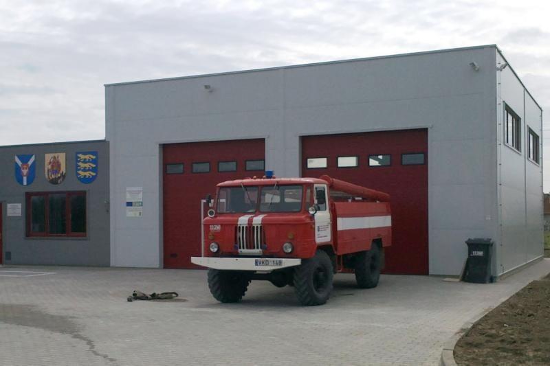 Lapių miestelyje – ugniagesių įkurtuvės