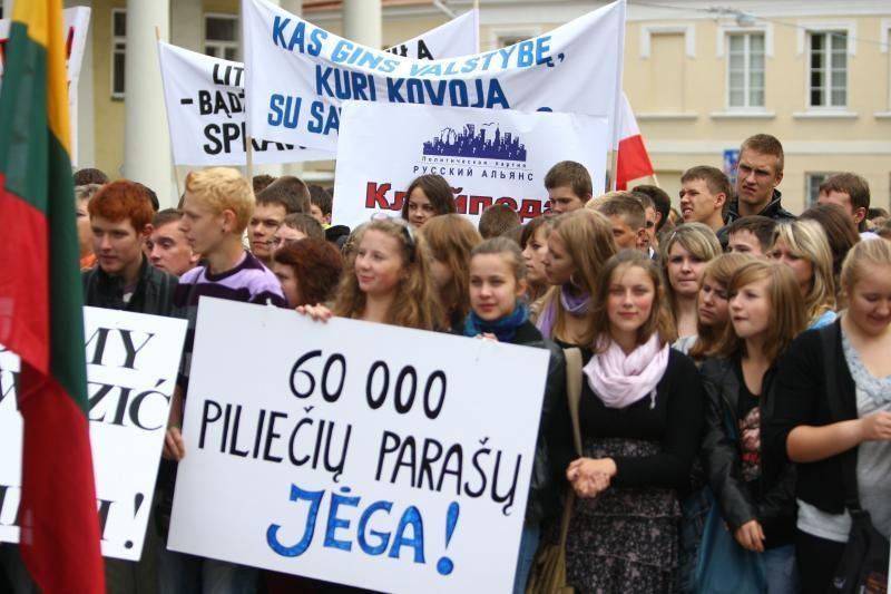Lenkijos lietuviai išsakė nerimą dėl augančio lenkų nacionalizmo
