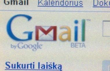"""""""Gmail"""" paslauga pasipildė balso ir vaizdo pokalbiais"""