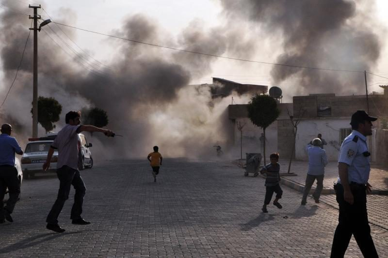Turkija Sirijai grasina griežtesniu atsaku
