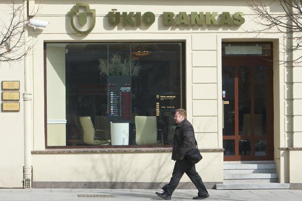 Ūkio bankas padidino įstatinį kapitalą iki 345,8 mln. litų