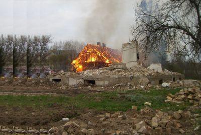 Vilniaus sodai kenčia nuo gaisrų