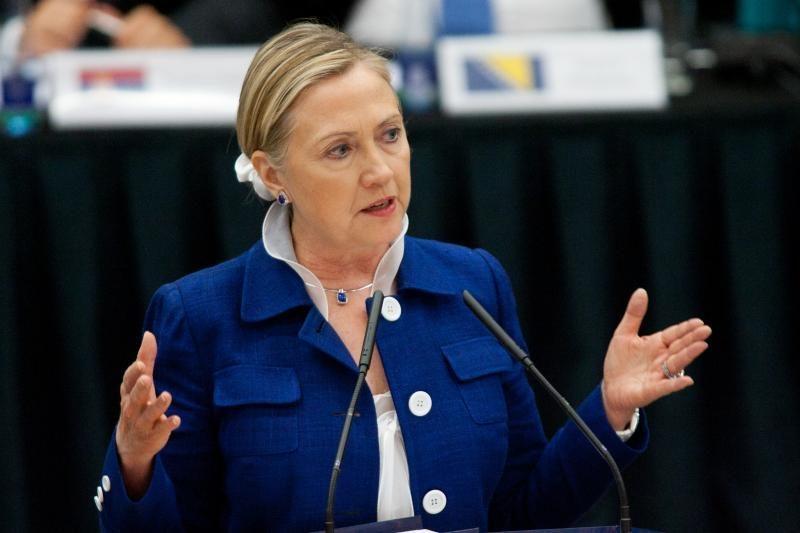 Vilniuje lankysis H.Clinton komandos narė
