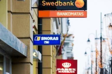 Baltijos šalių bankų turtas pernai sumenko beveik 5 proc.