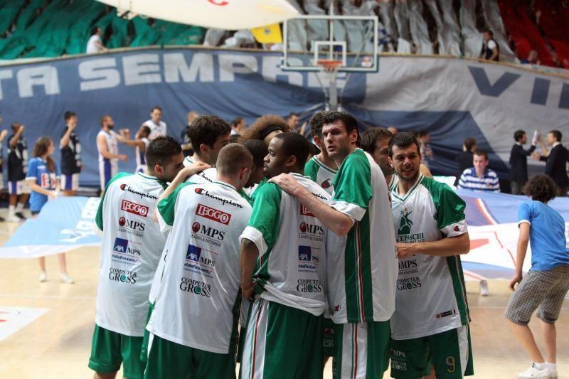 """""""Montepaschi"""" lietuviai įmetė 33 taškus, bet komanda pralaimėjo"""