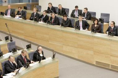 Naujosios Vyriausybės programoje – supainiotos sąvokos
