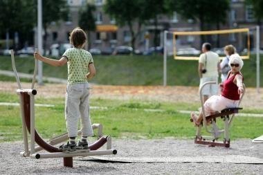 Kauno parkuose bus pastatyti lauko treniruokliai