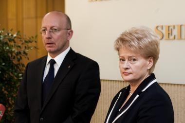 Etikos sergėtojai A.Valinsko neįpareigojo atsiprašyti Prezidentės