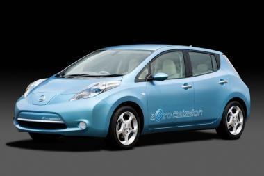"""""""Nissan LEAF"""" tarp 50 geriausių išradimų"""