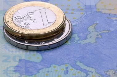 Euro kursas patraukė aukštyn JAV dolerio atžvilgiu